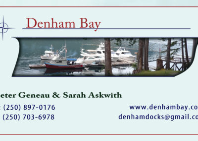 Denham Bay Logo and Card